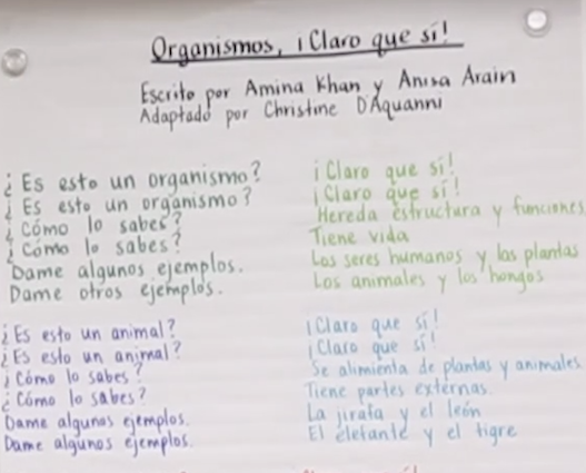 GLAD Strategies in Spanish: La Poesía y Los Cantos (Videos) 1