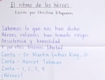 GLAD Strategies in Spanish: La Poesía y Los Cantos (Videos) 2